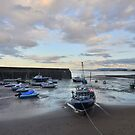 Exmoor: Low Tide at Minehead Harbour by Robert parsons