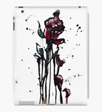 watercolor, ink, and acrylic rose iPad Case/Skin