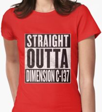 Rick and Morty - Straight Outta Dimension C-137 T-Shirt