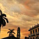Plaza Mayor at Sunset - Trinidad, Cuba by Kasia Nowak