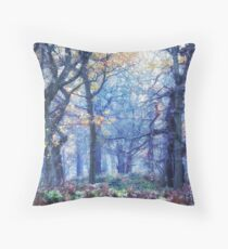 The Enchanted Forest ~ Landscape Throw Pillow