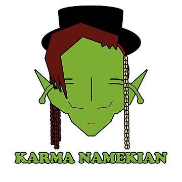 Karma Namekian by tombadguy