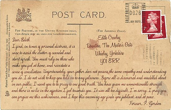 Dear Edith Crawley by ArmaanKapur