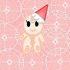 Cute Gingerbreadman by mikistarlight