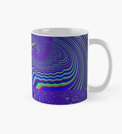 Sliding Phosphenes- Psychedelic Fractal Abstract Mug