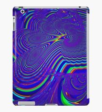 Sliding Phosphenes- Psychedelic Fractal Abstract iPad Case/Skin