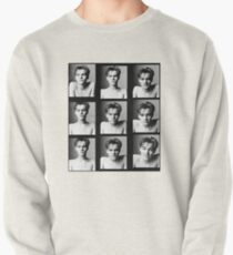 Leo B&W Pullover Sweatshirt