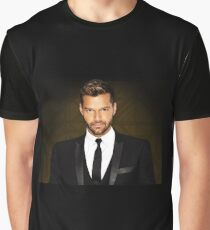Ricky Martin tour date time 2016 sr4 Graphic T-Shirt