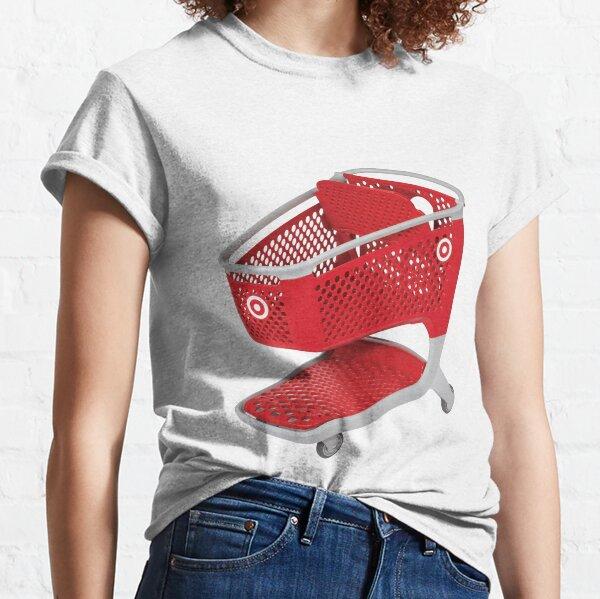 target shopping cart  Classic T-Shirt