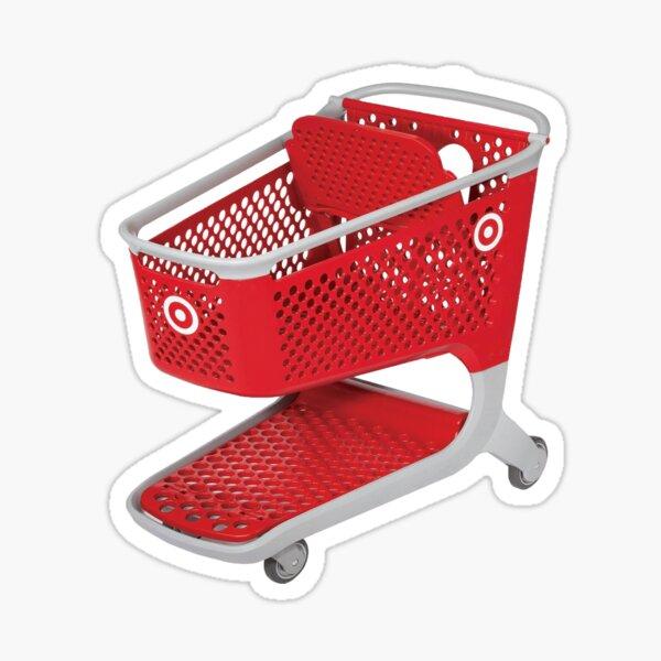 target shopping cart  Sticker