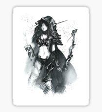 Sylvanas Windrunner Fan Art Sticker