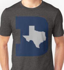 D Texas (Blue/Silver) T-Shirt
