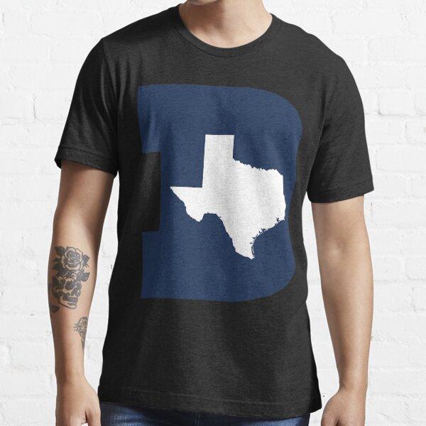 D Texas (Blue/White) Essential T-Shirt