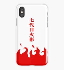 7th Hokage Cloak iPhone Case/Skin