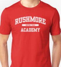 Rushmore Academy (White) Unisex T-Shirt
