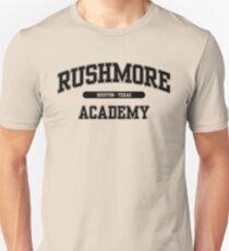 Rushmore Academy (Black) Unisex T-Shirt