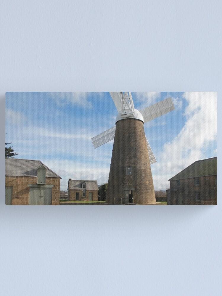 Alternate view of Flour Mill  Canvas Print