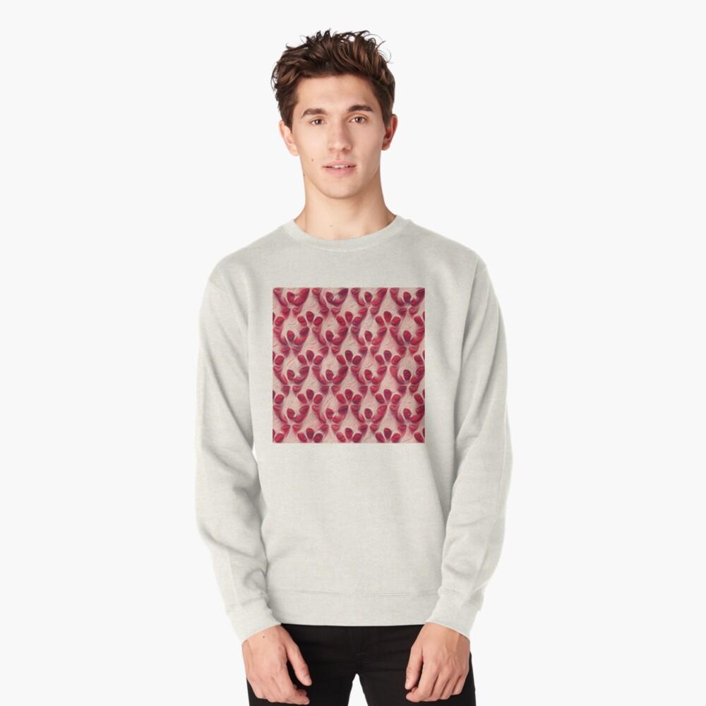 Pomegranate seeds #DeepDream Pullover Sweatshirt