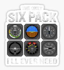 Funny Pilot Quote Cockpit Airplane Flight Intruments Sticker