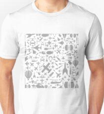 Aircraft a background T-Shirt