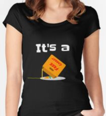 It's a Free Carrot Trap Funny T-Shirt Women's Fitted Scoop T-Shirt