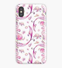 Mermaids and turtles iPhone Case/Skin