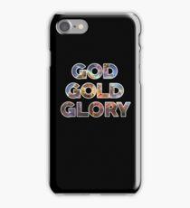 God Gold Glory iPhone Case/Skin