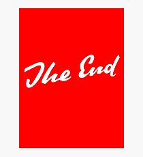 Sherlock Elementary - The End Photographic Print