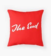 Sherlock Elementary - The End Throw Pillow