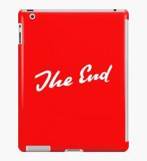 Sherlock Elementary - The End iPad Case/Skin