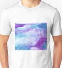 Amethyst watercolor Unisex T-Shirt
