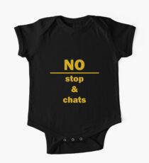 No, Stop & Chats One Piece - Short Sleeve