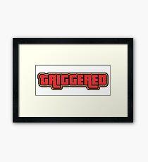 TRIGGERED (GTA - WASTED) Framed Print