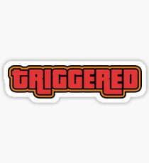 TRIGGERED (GTA - WASTED) Sticker