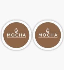 Mocha Sticker