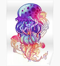 Jelly Space (White Variation) Poster