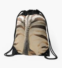 """This is not """"The End"""" Drawstring Bag"""
