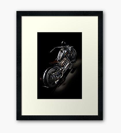 Black Indian Four Framed Print