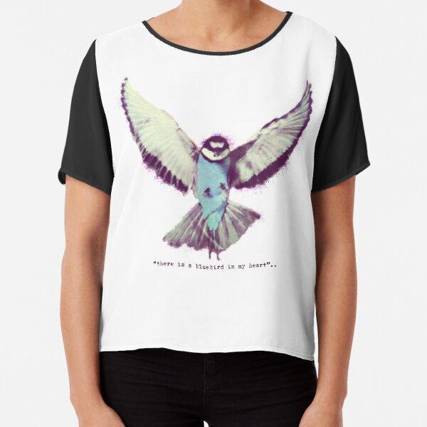 Bluebird Chiffon Top