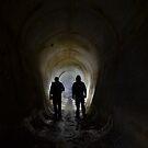 Explore BIG drains with ya DAD... by JAZ art