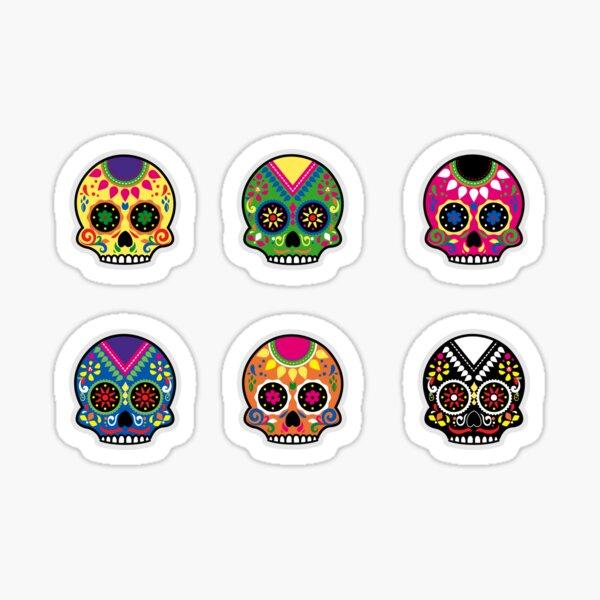 Sugar Skulls Sticker Sheet Sticker