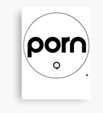porn Canvas Print
