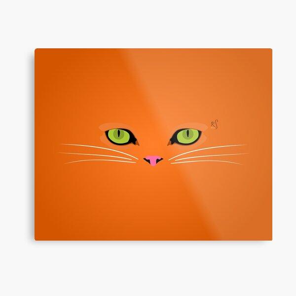 Orange Tabby Metal Print
