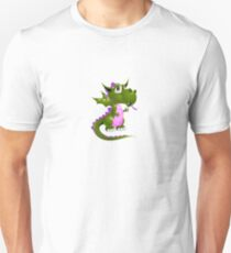 Pink and green Draco of the Dragon Unisex T-Shirt