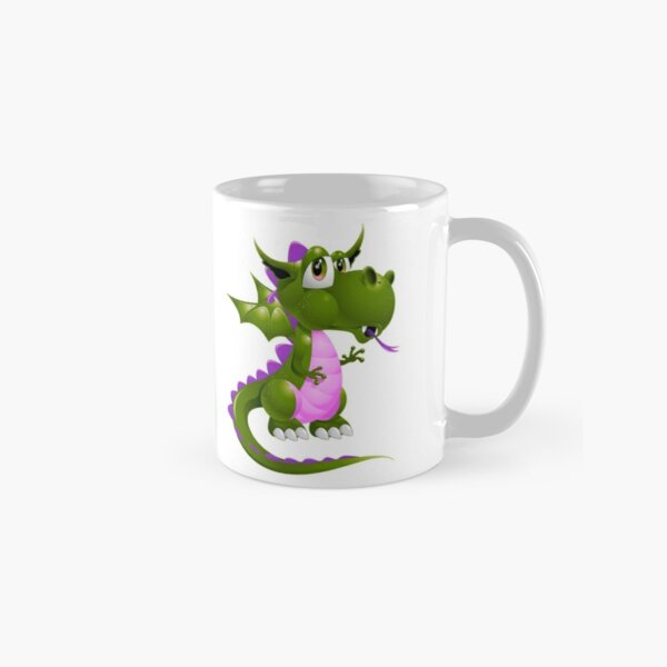 Pink and green Draco of the Dragon Classic Mug