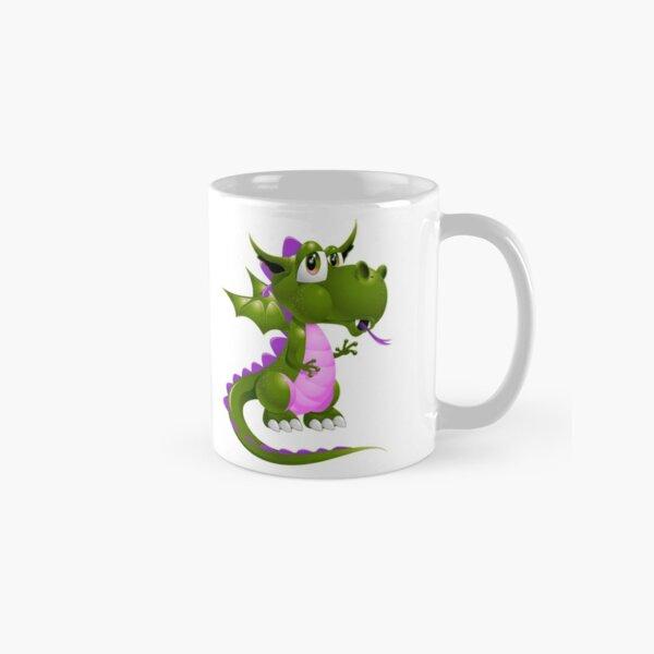 Pink and green Draco of the Dragon Classic Mug