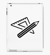 Ruler pencil iPad Case/Skin