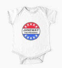 JANEWAY FOR PRESIDENT Kids Clothes