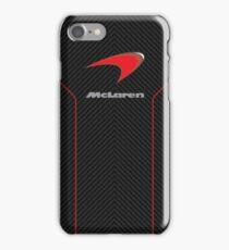 Mclaren case (carbon fiber edition) iPhone Case/Skin