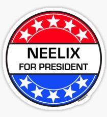NEELIX FOR PRESIDENT Sticker